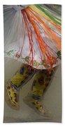 Pow Wow Shawl Dancer 4 Beach Towel