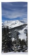 Powder Day On The Pass Beach Towel