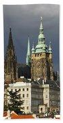 Prague Castle Complex Beach Towel