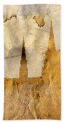 Prague Castle Beach Towel