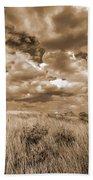 Prairie And Sky Beach Towel