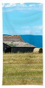 Prairie Barn Beach Towel