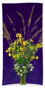 Prairie Bouquet Beach Towel