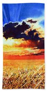 Prairie Gold Beach Towel