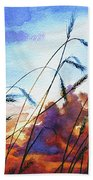 Prairie Sky Beach Towel