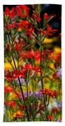 Prairie Wildflowers 2 Beach Towel