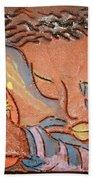 Prayer 28 - Tile Beach Towel