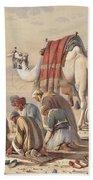 Prayers In The Desert Beach Towel