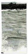 Precarious Beach Towel