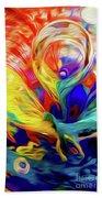 Premorphationism Glass Beach Towel
