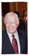 President Jimmy Carter - Nobel Peace Prize Celebration Beach Towel