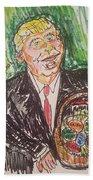 President Trump Beach Towel