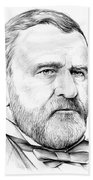 President Ulysses S Grant Beach Towel