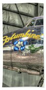 Presidential Aircraft - Lockheed Vc-121e Columbine Beach Towel