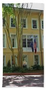 President's Residence University Of South Carolina Beach Towel