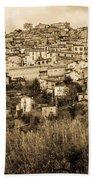 Pretoro - Landscape In Sepia Tones  Beach Towel