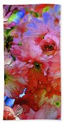 Pretty Petals Beach Towel