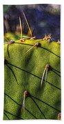 Prickly Pear Study No. 9 Beach Towel