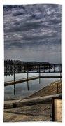 Priest River Panorama 6 Beach Towel