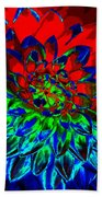 Primary Colors Beach Towel