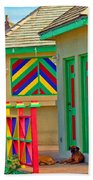 Primary Colors Beach Towel