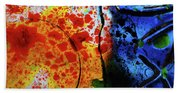 Primary Crystal Abstract Beach Towel