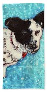 Primrose Water Love Beach Towel