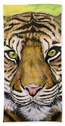 Prince Of The Jungle Beach Towel