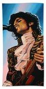 Prince Painting Beach Sheet