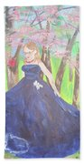 Princess In The Forest Beach Towel