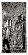 Princeton University Foulke And Henry Halls Archway Beach Towel