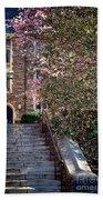 Princeton University Old Stairway Beach Towel
