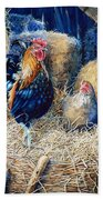 Prized Rooster Beach Towel