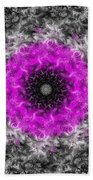 Probability Flower Beach Towel
