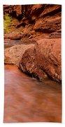 Professor Creek Canyon 2 Beach Towel