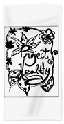 Project Healthy Beach Towel