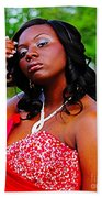 Prom Night 3 Beach Towel