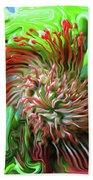 Protea Bouquet Beach Towel