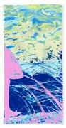 Psychadelic  Beach Beach Towel