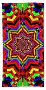 Psychedelic Construct Beach Towel