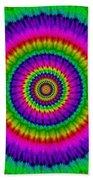 Psychedelic Journey Beach Towel
