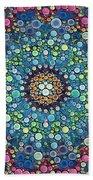 Psychedelic Mandala Beach Towel
