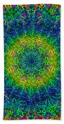 Psychedelicize Beach Towel