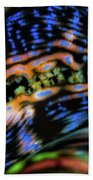 Psychedellic Clam Beach Towel