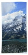 Ptarmigan Trail Overlooking Elizabeth Lake 5 - Glacier National Park Beach Towel
