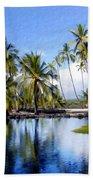 Pu Uhonua O Honaunau Pond Beach Towel