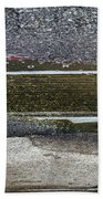 Puddle Reflections Beach Towel