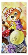 Pudsey And Truffle Mcfurry For Children In Need Beach Towel