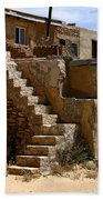 Pueblo Stairway Beach Towel