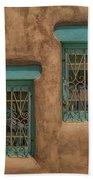 Pueblo Windows Nm Horizontal Img_8336 Beach Towel